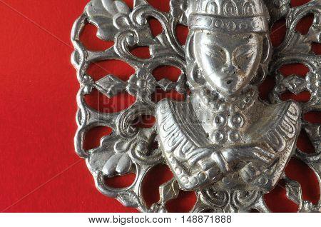 Silver Buddha Pendant Jewel