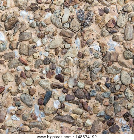 surface of the rock with gray tint. Stone texture background