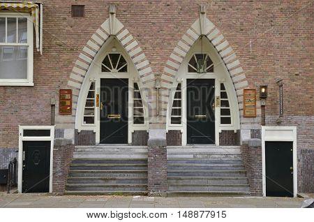 Twin Entrances