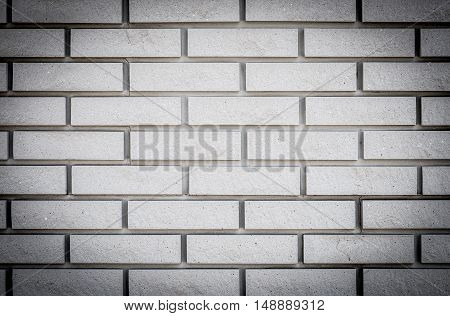 Concrete Or Cobble Gray Pavement Slabs Or Bricks With Vignette