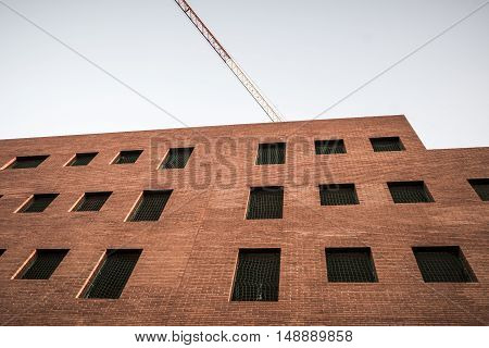 Abandoned apartments in Sant Cugat del Valles Barcelona Spain