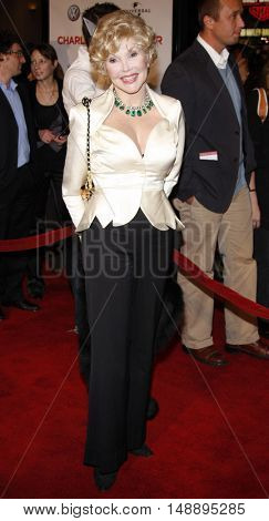 Joanne Herring at the World premiere of 'Charlie Wilson's War' held at the Universal Studios in Hollywood, USA on December 10, 2007.