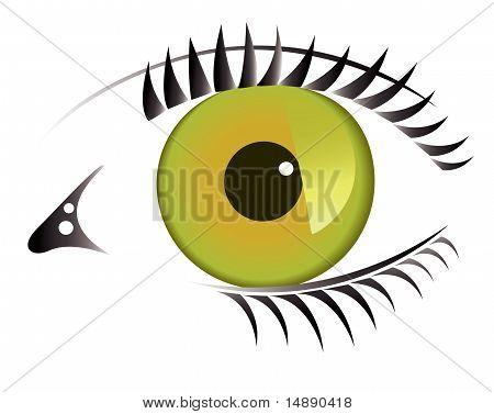An abstract eye