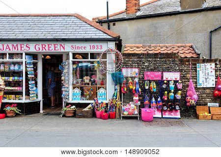 Local Shop In Southwold