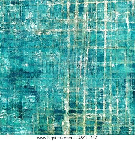 Retro design on grunge background or aged faded texture. With different color patterns: gray; blue; white; cyan