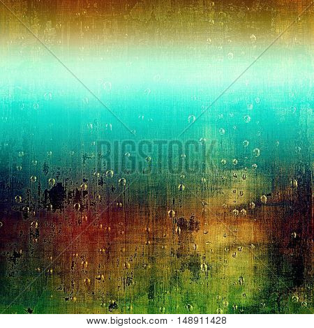 Antique frame with grunge background. With different color patterns: yellow (beige); brown; green; blue; red (orange)