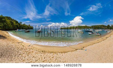 Padangbai Beach - Bali Island Indonesia - nature travel background