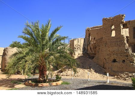Old abandoned Village in Sultanate of Oman