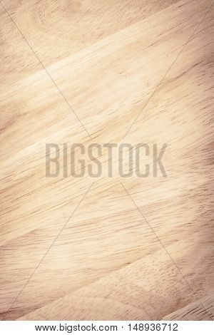 Brown wooden plank, tabletop, floor surface or cutting board. Wood texture