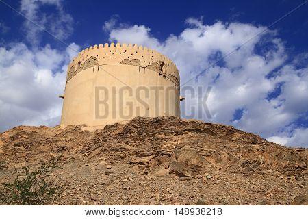 Birkat Al Mawz in Sultanate of Oman.