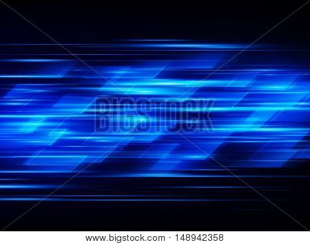 High speed Hi-tech illustration, Abstract technology background