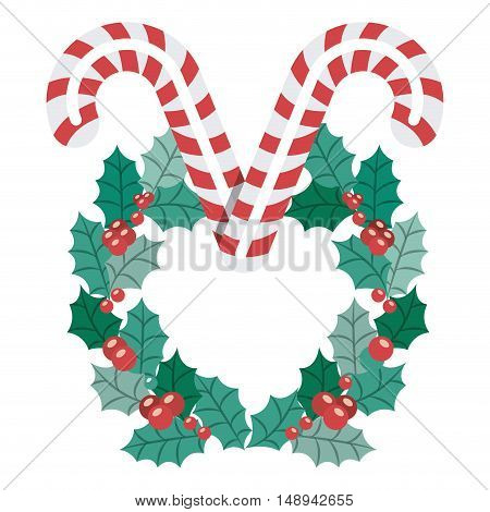 Candy icon. Merry Christmas season and decoration theme. Isolated design. Vector illustration