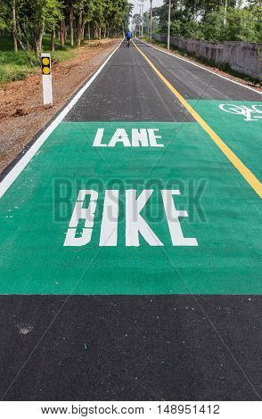 Dedicated bicycle lanes designed to make cycling safer