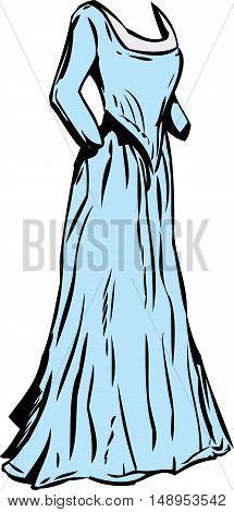 Long 18Th Century Dress