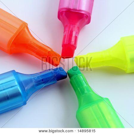 Highlighter Marker Pens