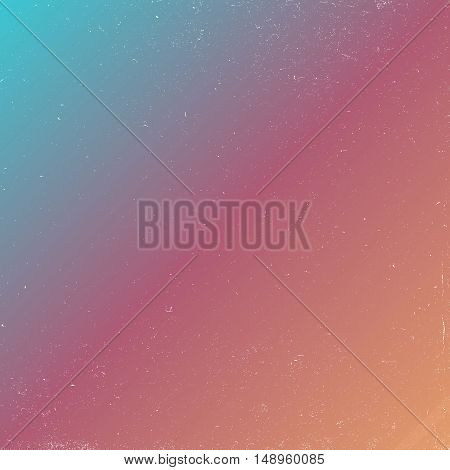 80s retro style abstract background with grunge effect. outer space colorful background. vector illustration