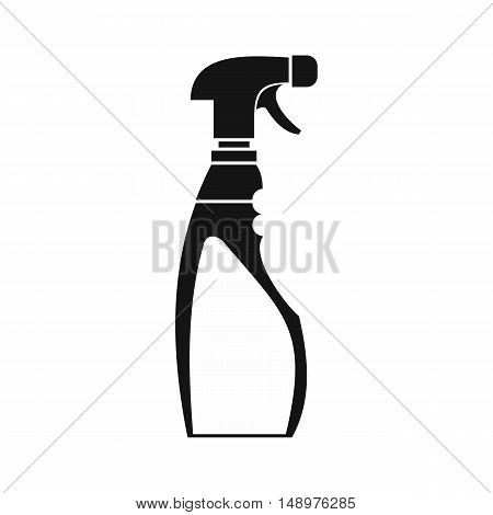 Sprayer bottle icon in simple style on a white background vector illustration