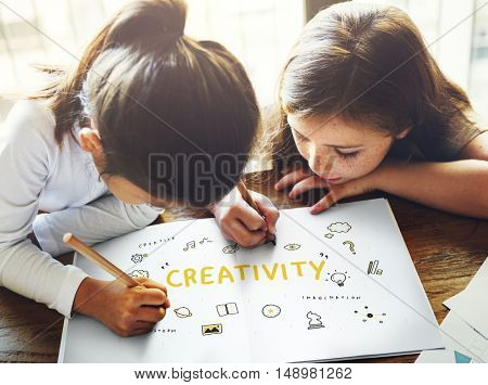 Creation Ideas Light Bule Imagination Arts Development Concept