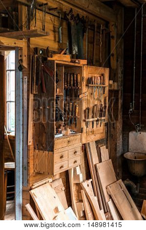 Carpentry In Vintage Style