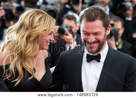 Dominic West, Julia Roberts at the Money Monster Premiere at the 69th Festival de Cannes. May 12, 2016  Cannes, France