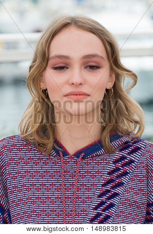 Lily-Rose Depp  at the photocall for The Dancer (La Danseuse) at the 69th Festival de Cannes.May 13, 2016  Cannes, FrancePicture: Kristina Afanasyeva / Featureflash