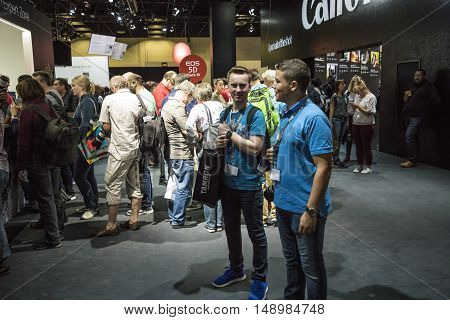 The Photokina 2016 Takes Place In The Koelnmesse Building In Cologne