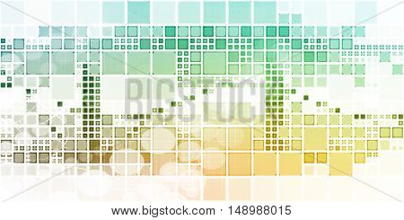 Futuristic Design Abstract Background as a Concept