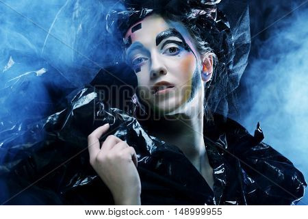 Dark Beautiful Gothic Princess.