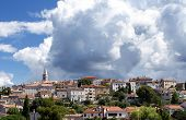 stock photo of fkk  - Croatia in the summer city Vrsar FKK naturist park koversada - JPG