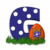 picture of g-spot  - G in the alphabet set  - JPG