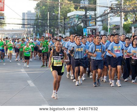 Philippine National Police- Milo Marathon