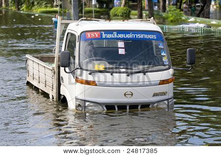 Monsoon Flooding In Bangkok, October 2011