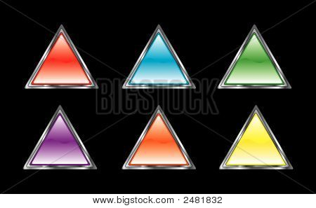 Glossy Triangle Set