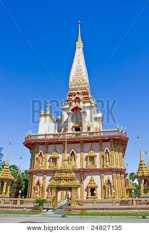 Pagoda In Wat Chalong, Phuket, Thailand