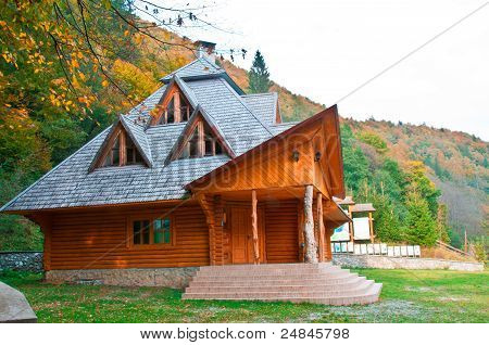 wooden house wood
