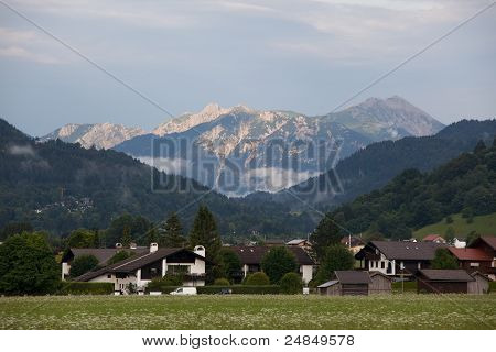 Mountain In Garmisch-partenkirchen, Germany
