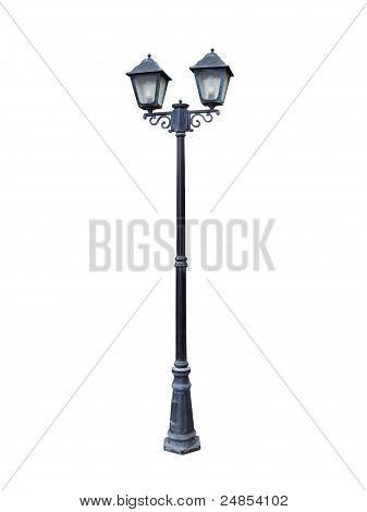 Two Headed Street Lamp.