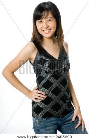asiatische teenager