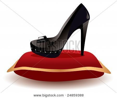 Shoe On The Pillow