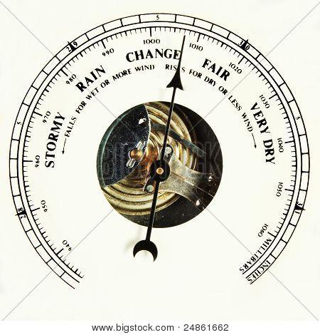 Barometer Dial Change