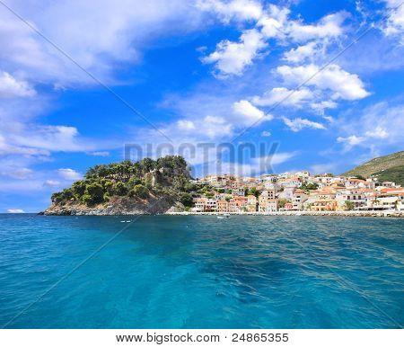 summer  in Parga Greece