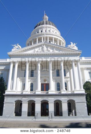 Front Of California State Capitol Building