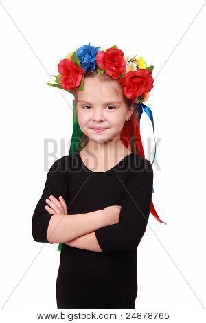 Ukrainian adoradle kid with pretty smile