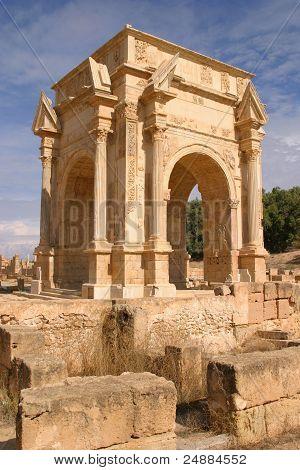 Leptis Magna Arch