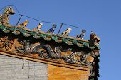 Chinese Roof Animals poster
