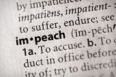 Dictionary Series - Politics: Impeach