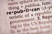 Dictionary Series - Politics: Republican