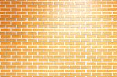 Vintage Brick Wall Texture Background. Surface Texture Masonry Bright Cleaned Brickwork. poster