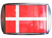Flag To Danmark poster