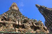 wat aroon landmark of bangkok thailand poster